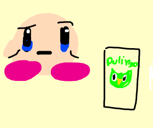 Kirby buying duolingo