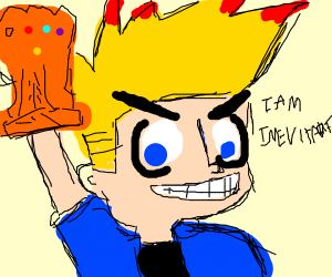 johnny test gets all 6 infinity stones