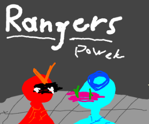Bootleg power rangers