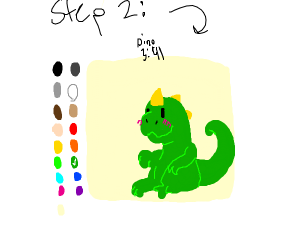 Step 1: find out, how to draw
