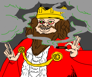 stoned king