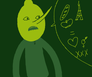 lemon man is frenchsexual