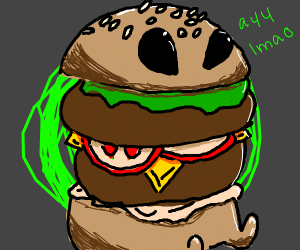 Hamburger Alien