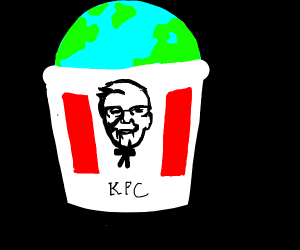 KFC commits world domination