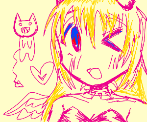 Oh no a weeb.. demon.. girl thing