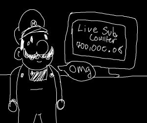 Mario reaches 700,000.08 subscribers