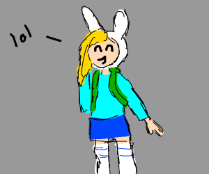 Fionna giggles