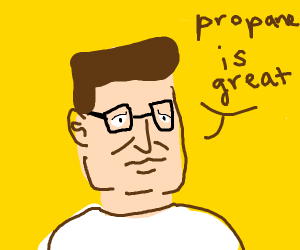Hank Hill thinks propane is great!