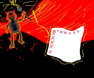 Demon Garfield Officially ending mondays