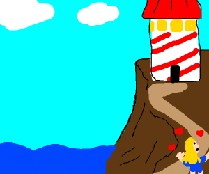 person loves a lighthouse