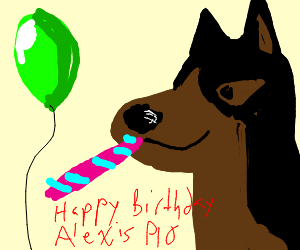 Happy Birthday Alexis! PIO