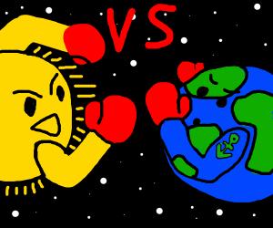 Sun vs Earth