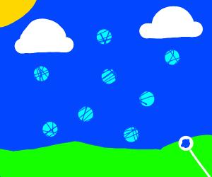 Bubble static