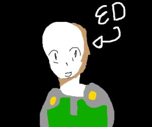 bald superhero named ed