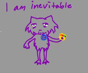Thanos as a Furry
