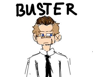 cute rugged man named buster