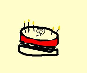 Fairytail cake