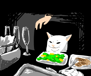 Confused Cat Meme Drawing - Best Cat Wallpaper