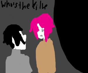 murder in a dark alley