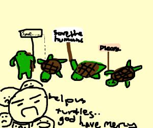 Save us turtles