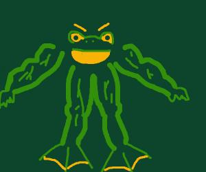 A Buff Frog