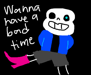 Bootleg Sans has a bone to pick with you