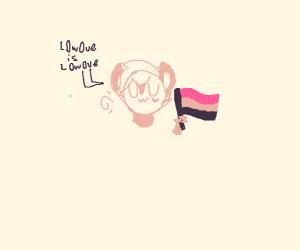 Furry LGBT guy