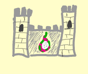 Dragonfruit in a Castle