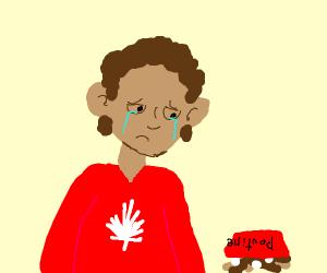 sad canadian boye