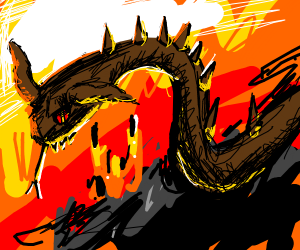 Demon Snake in Hell