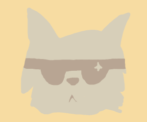 A wolf in glasses!