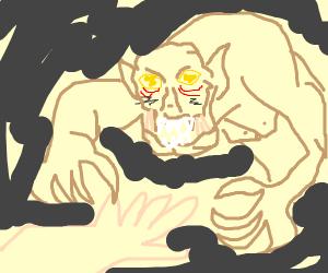 Ghoul in a Battle