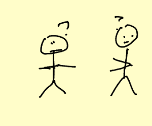 confused stick figures