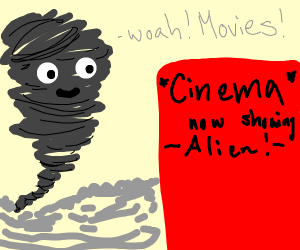 tornado going to the movies