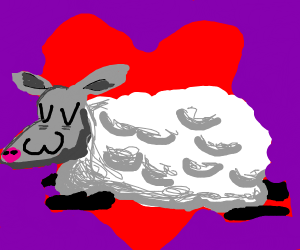 UwU Sheep Surrounding in Hearts