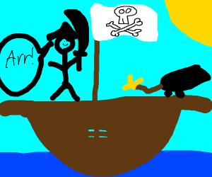 Pirates pirating