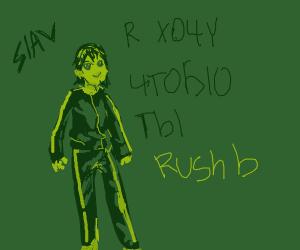 tracksuit russian wants you to rush b