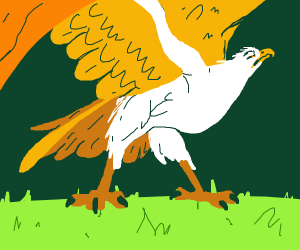 Marahute, the golden eagle from The Rescuers