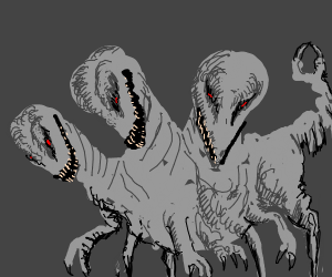 Three headed monster