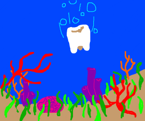 Underwater Tooth