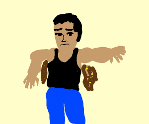 man has armpit diarrhoea