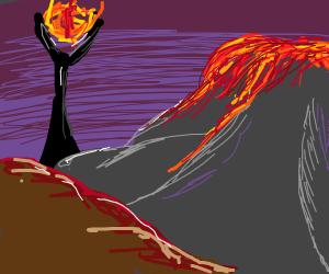 Volcano of mordor