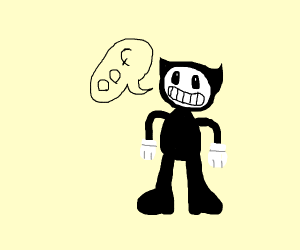 bendy says oof