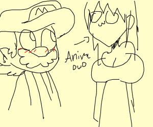 Mario meets anime meets OWO