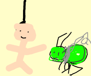 happy man adopts cricket slave son and hangs