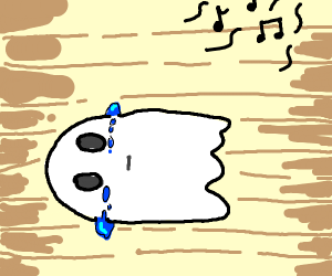 Depressed ghost from 2016.