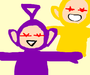 BOW TO THE TELETUBBY OVERLORDS