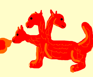 3 headed dragon
