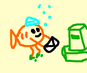 Fishing for mail