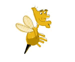 Grandpa 'Steely' Phil as a Bee